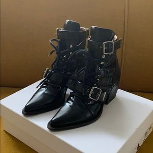 Chloe Rylee Lace Up Boots